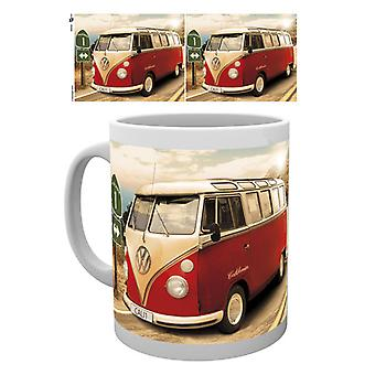 VW Camper Route One Box Trink Becher