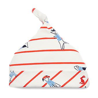 Joules Baby Boys Koo Knotted Hat Sea Dog Stripe