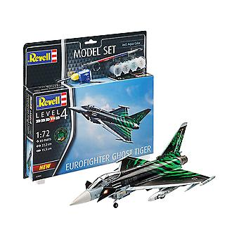 Revell 63884 Eurofighter 'Ghost Tiger ' Model Set, Multicoloured, 1/24
