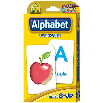 Flash Cards Alphabet 52 Pkg Szflc 4001
