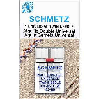 Twin Machine Needle-Size 4.0/80 1/Pkg 1794