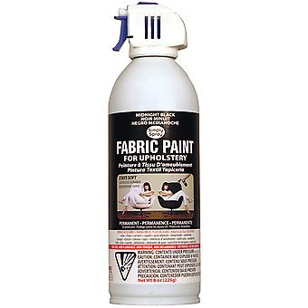 Upholstery Spray Fabric Paint 8 Ounces Midnight Black Up38090 00M