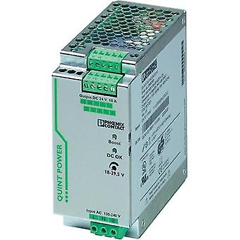 Phoenix Contact QUINT-PS/1AC/24DC/10 DIN Rail Power Supply 24Vdc 10A 240W, 1-Phase