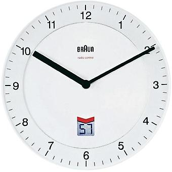 Radio Wall clock Braun BNC006 WHWH 66013 8 20 cm White