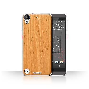 STUFF4 Case/Cover for HTC Desire 530/Pine/Wood Grain Pattern