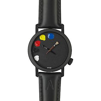 Akteo Paint Jan. 42 Black (2) (Fashion accesories , Watches , Analog)