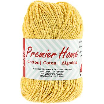 Home Cotton Yarn - Solid-Yellow 38-4