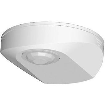 Surface-mount PIR motion detector Grothe 94500 360 ° Relay White IP40