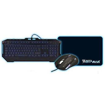 CoolBox Kit Keyboard + Mouse Pad +