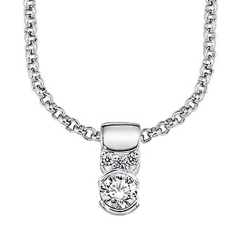 s.Oliver jewel ladies necklace silver cubic zirconia SO839/1 - 9856688