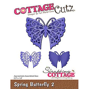 CottageCutz Die-Spring Butterfly 2, 2.3
