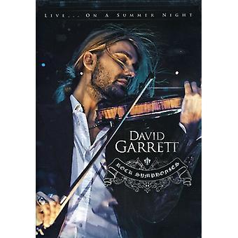 David Garrett - Rock Symphonies [DVD] USA import