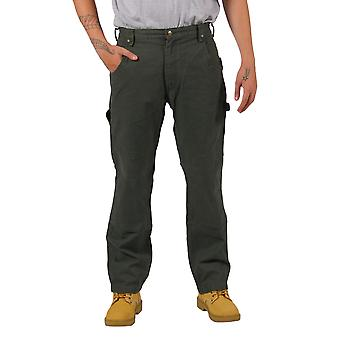 KEY Duck Work Trousers (Green) - Premium Duck Fabric Heavy duty work pants