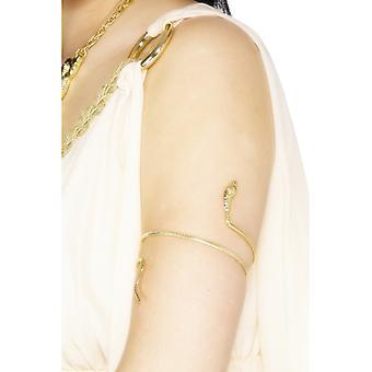 Kleopatra Armband Schlangenarmband Ägypten gold