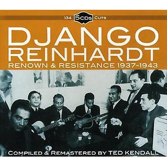 Django Reinhardt - importación de Estados Unidos de 1937-43 [CD] de renombre y la resistencia