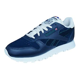 Reebok Classic Leather Ivy League Womens Trainers / Shoes - Blue
