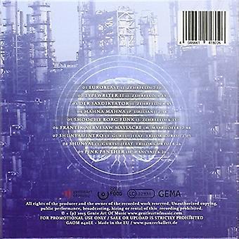 Panzerballett - Breaking Brain [CD] USA import