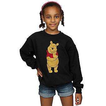 Disney Girls Winnie The Pooh Classic Pooh Sweatshirt