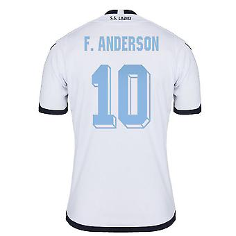 2015-2016 Lazio Authentic Third Shirt (F.Anderson 10)