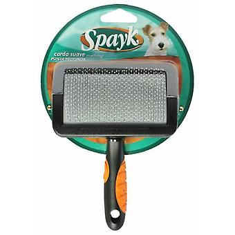 Sandimas Curved Soft Mango Comb - Medium (Dogs , Grooming & Wellbeing , Brushes & Combs)