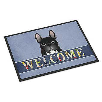 French Bulldog Welcome Indoor or Outdoor Mat 18x27