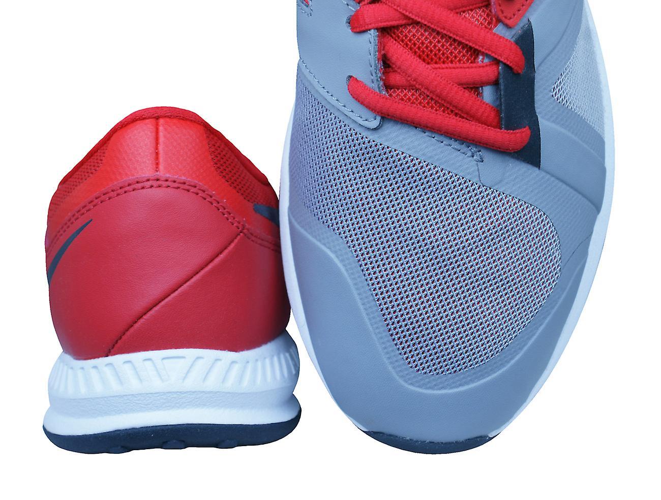 Nike Air epische Speed TR Mens Trainers schoenen grijs en rood
