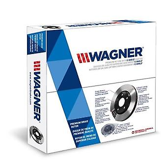 Wagner BD125046E Premium E-Coated Rotor, Rear, 1 Pack