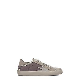 Crime London Damen 25010A17B25 Silber Leder Sneakers