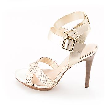 Marc Fisher Womens CARI Leather Open Toe Casual Ankle Strap Sandals