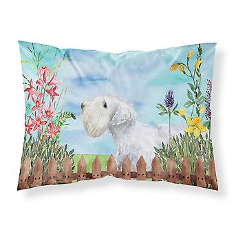 Sealyham Terrier Spring Fabric Standard Pillowcase