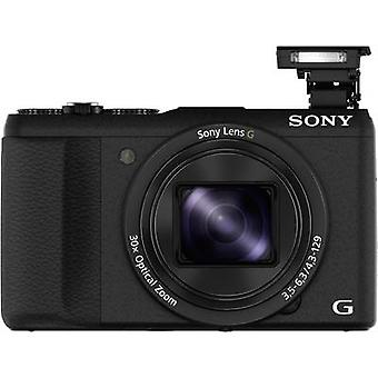Digitalkamera Sony DSC-HX60B 20,4 MPix optischer Zoom: 30 x Black Full HD-Video, Wi-Fi-Hot-Shoe