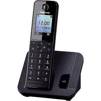 Cordless analogue Panasonic KX-TGH210 Hands-free Black