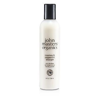 John Masters Organics Rosemary & Peppermint Detangler - 236ml/8oz