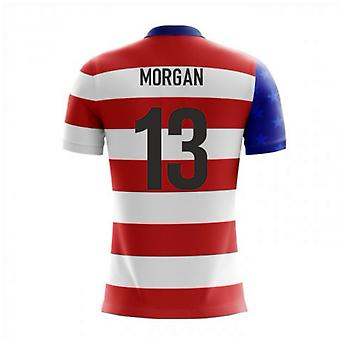2018-19 USA Airo Concept Home Shirt (Morgan 13)