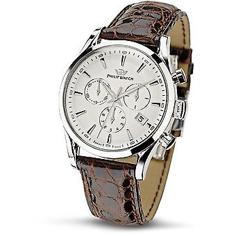 Philip watch mens watch Sunray chronograph R8271908003