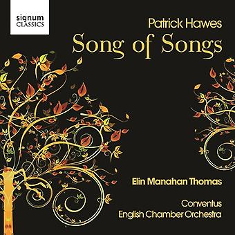 P. Hawes - Patrick Hawes: Song of Songs [CD] USA import