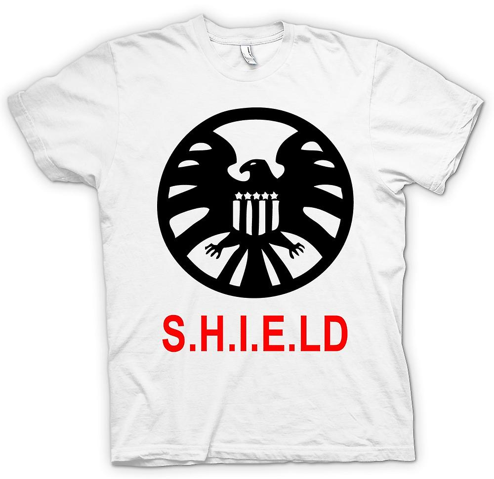 Heren T-shirt-SHIELD Avengers Logo