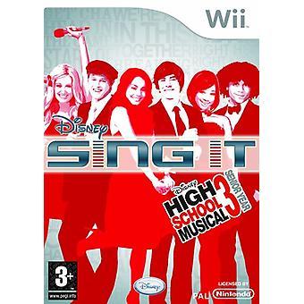 Disney Sing It High School Musical 3 Senior Year - Spiel nur (Wii)