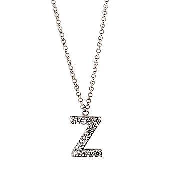 Orphelia Silver 925  Alphabet Z With Chain 40-44 Cm  ZK-alpha/Z