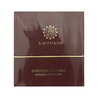 Amouage 'MughalGardens' ScentedCandleAndCandleHolder 6.9oz Inbox OriginalFormula