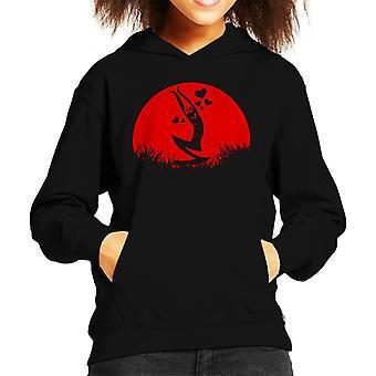 One Piece Sanji Love Sunset Kid's Hooded Sweatshirt