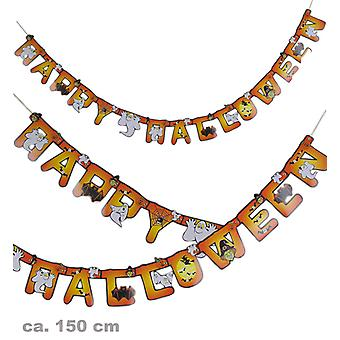 Happy Halloween Halloween party greeting chain Garland