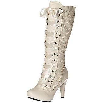 Ellie Shoes IS-E-414-MARY 4 Heel Victorian Style Boots