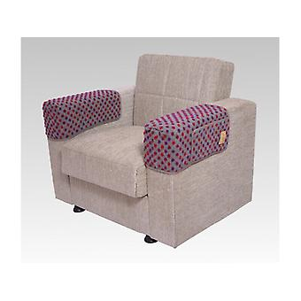 Armrest saver seat saver silver some 40 x 55 cm 2 pockets