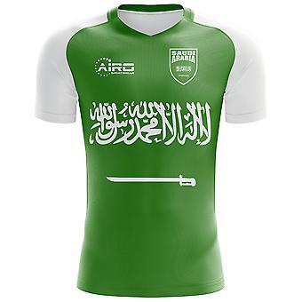 2018 - 2019 Saudi-Arabien Away Konzept Fußballtrikot (Kids)