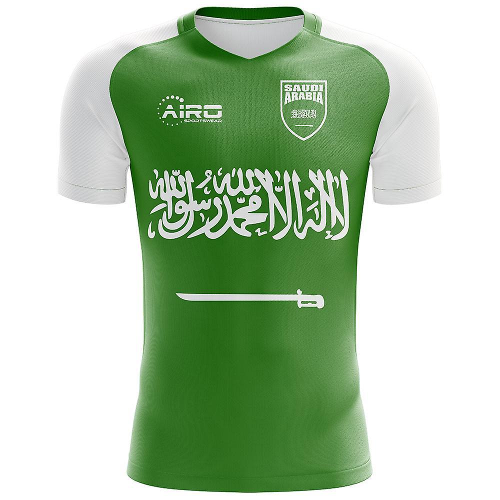 2018-2019 السعودية مفهوم بعيداً لكرة القدم قميص (الأطفال)