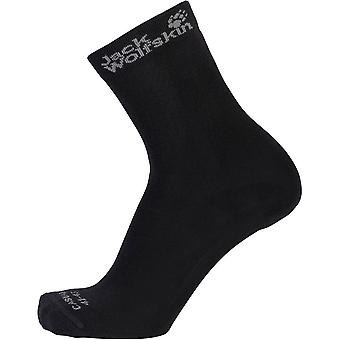 Jack Wolfskin Mens & Womens/Ladies Casual Classic Cut Socks 2 Pack