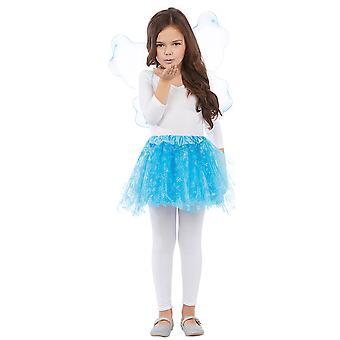 Alas de hielo cristal set 2 PCs hielo hadas niños disfraz Halloween Carnaval