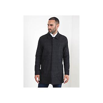 Guide London Micro Check Overcoat