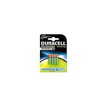 Duracell STAYCHARAAAP4 4x AAA Batterijen Oplaadbaar